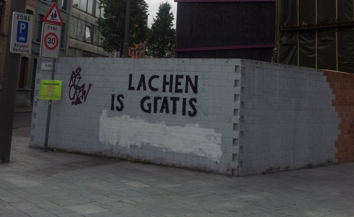 Lachen is Gratis…